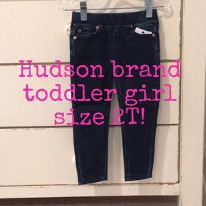 NWT Hudson skinny jeans— toddler size 2!